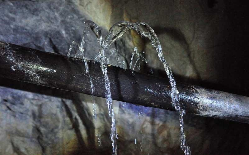 Detekcia úniku vody - lokalizácia úniku vody